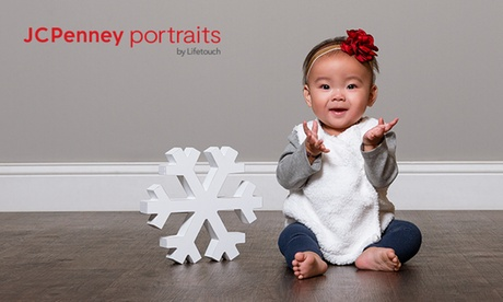 Photography Shoot Packages at JCPenney Portraitsby Lifetouch (Up to 80% Off). Two Options.