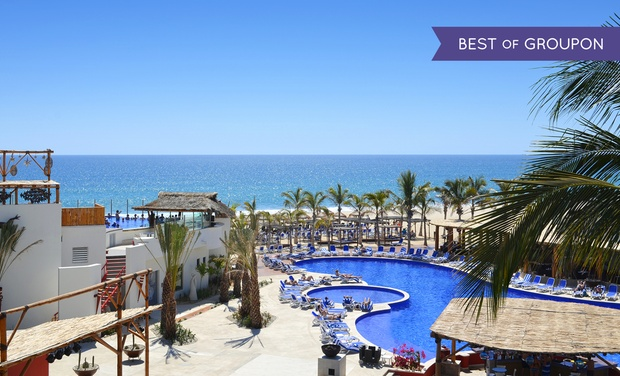 TripAlertz wants you to check out ✈ 4-Night All-Inclusive Royal Decameron Los Cabos Stay with Airfare. Price per Person Based on Double Occupancy. ✈ 4-Night Royal Decameron Los Cabos with Air from Travel by Jen - All-Inclusive Mexico Vacation