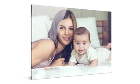 1 o 2 impresiones con imagen personalizable sobre metacrilato con Photo Gifts (hasta 84% de descuento)