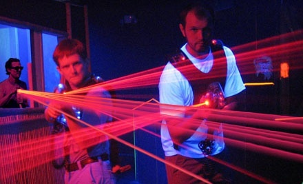 Laser Tag, Unlimited Mini Golf, and Soft Drinks for Up to 4 or 10 at Walther's Golf & Fun (Up to 53% Off)