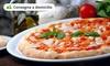 Menu pizza, consegna o asporto