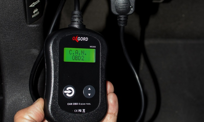 Up To 65% Off on CAN OBD-II Car Scanner Tool   Groupon Goods