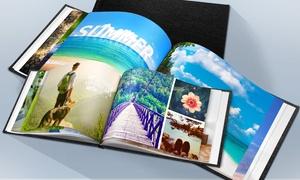 PrinterPix: Fotolibro personalizzato con copertina in pelle da 20, 40, 60 o 100 pagine offerto da PrinterPix (sconto fino a 96%)