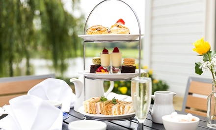 AA Rosette Festive Afternoon Tea with a Glass of Prosecco for Two or Four at The Mill Hotel (49% Off)