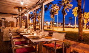 Mamarosa Beach: Menú degustación para 1, 2 o 4 con entrante, primer plato, segundo plato y postre en Mamarosa Beach