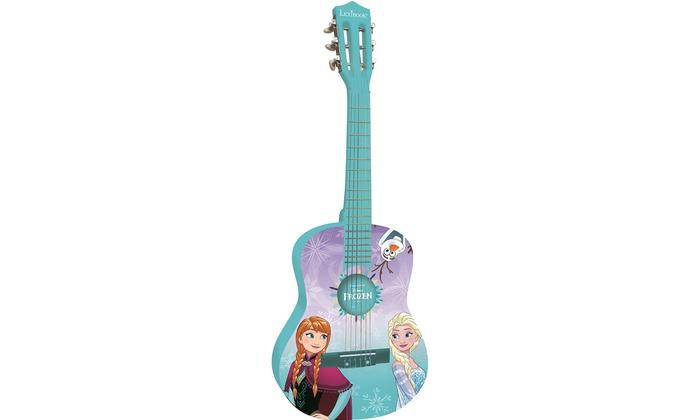 Jusquà 19% guitare bois la reine des neiges groupon