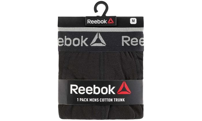 REEBOK Pack de 4 Boxers en Coton Homme