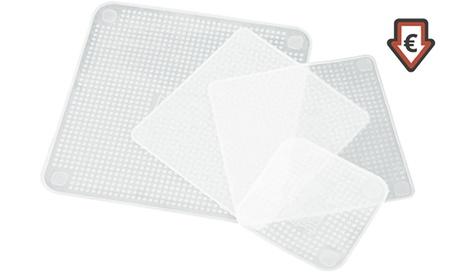 Pack de 4, 8, 12 o 16 tapas herméticas reutilizables de silicona