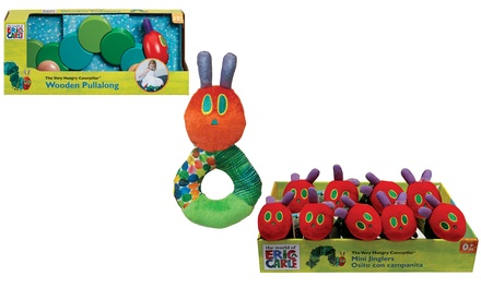 Caterpillar Baby Toys: Loop Rattle, Jingler Caterpillar, PullAlong Hungry Caterpillar or all Three