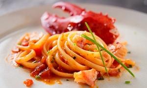 L'Angolo dei Sapori: Menu Brezza di Mare, 4 portate con astice e tartare, dolce e bottiglia di vino a L'Angolo dei Sapori (sconto fino a 80%)