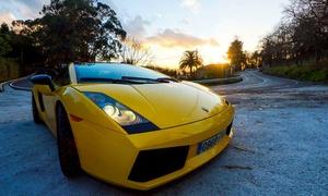 Motos de Agua Poniente: Ruta por carretera de 15, 20 o 30 km en Lamborghini Gallardo con monitor desde 89 € en Motos de Agua Poniente