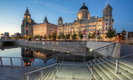 Liverpool: 1, 2 or 3 Nights for Two with Breakfast and Prosecco at Hallmark Inn Liverpool