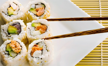 $17 for $30 Worth of Sushi and Japanese Food at Ginza Japanese Restaurant