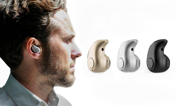 Groupon Goods Global GmbH: Auriculares Bluetooch Sinji Mono por 9,99 € (67% de descuento)