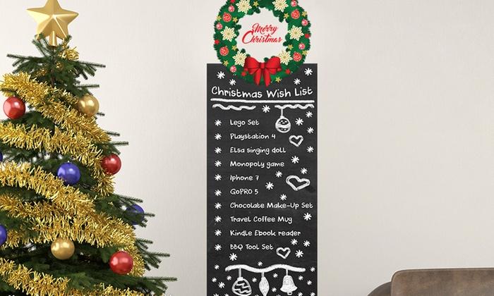 Adesivi natalizi da parete groupon goods - Adesivi natalizi per finestre ...
