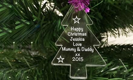 acrylic xmastree decorations