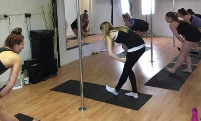 image for One or Three Pole Dance Classes for Beginners at Superwoman Pole Dance (Up to 44% Off)