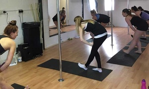 Superwoman Pole Dance: One or Three Pole Dance Classes for Beginners at Superwoman Pole Dance (Up to 44% Off)