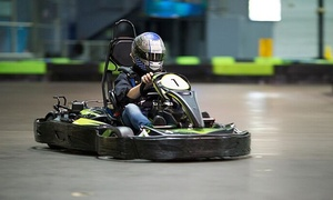 Andretti Indoor Karting and Games: Fun and Games Package for One, Two, or Four at Andretti Indoor Karting & Games (Up to 52% Off)