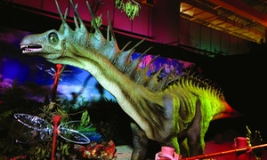Admission For One Adult And One Child Or A Family Admission To Dinosaurs The Exhibition (up To 35% Off)