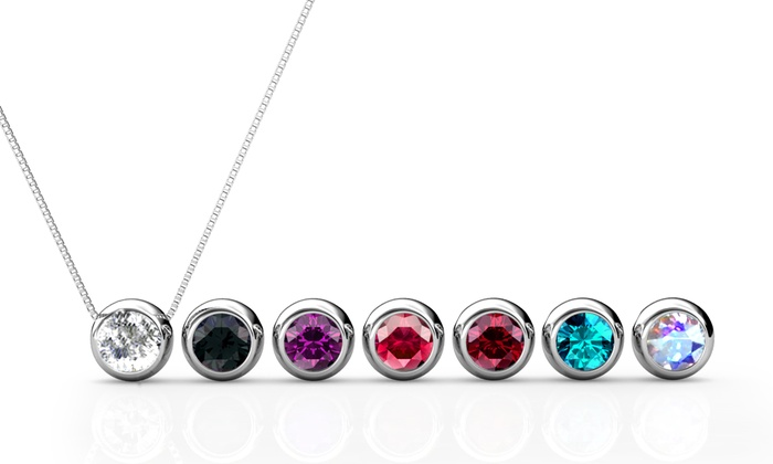 Groupon Goods Global GmbH: 1 ou 2 sets de 7 pendentifs My Charms ornés de cristaux Swarovski®