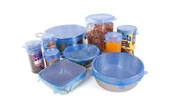 Reusable Food Storage Lid Covers (10-Pack)