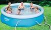 Bestway Fast Set Round Swimming Pool Sets