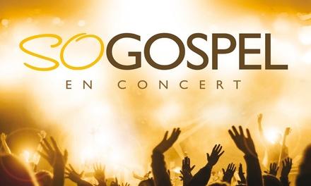 1 place libre pour le concert So Gospel, à Ancénis et Rezé, à 10 €