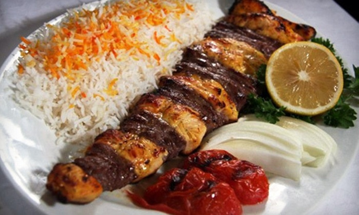Sinbad Mediterranean Cuisine & Buffet - Suburban Northside: Buffet Meal for Two or $7 for $14 Worth of Middle Eastern Cuisine at Sinbad Mediterranean Cuisine & Buffet