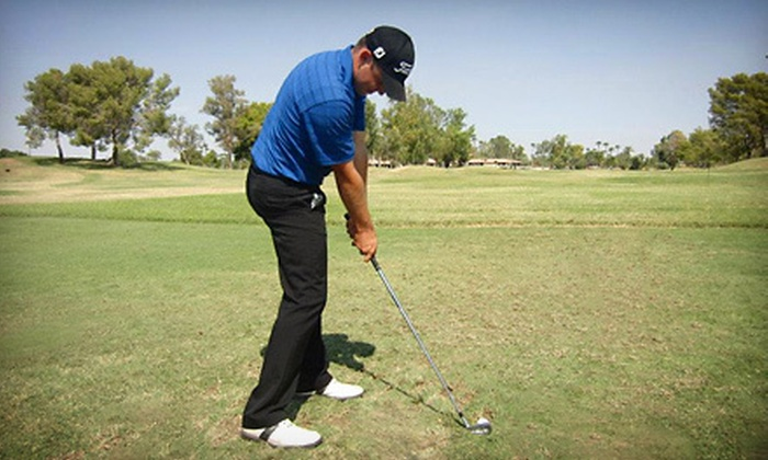 Expert Golf AZ - Scottsdale Silverado Golf Club: Private Golf Lesson Including Ball Flight and Video Analysis with Tyler Christensen from Expert Golf AZ ($100 Value)