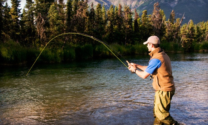 Rock-N-Row - Cotopaxi: Half-Day Fly-Fishing Trip for One or a Full-Day Trip for One or Two from Rock-N-Row in Cotopaxi (Up to 51% Off)