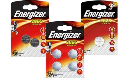 1, 2 ou 4 Piles bouton Energizer CR2025 (SaintEtienne)