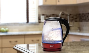 10-Cup Cordless Electric Glass Kettle