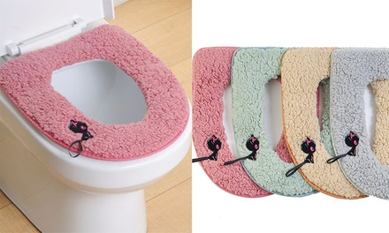 Warm Toilet Seat Cover: One ($12.95) or Two ($19.95)