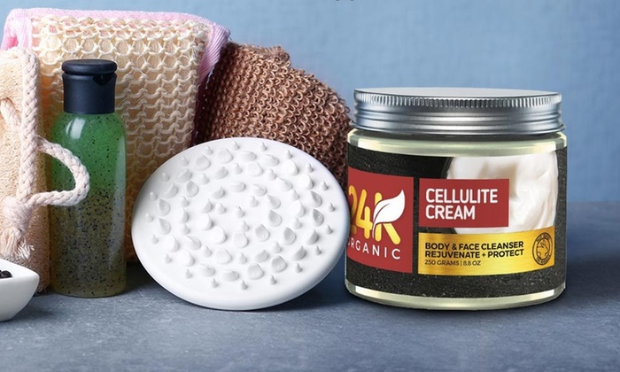 Up To 71 Off On 24k Organic Anti Cellulite Cream Groupon Goods