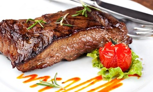 The Bucket & Spade: Steak Meal with Wine for Two or Four at Bucket and Spade (Up to 59% Off)