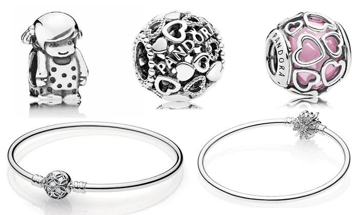 327d99618f09 Pulseras y charms Pandora | Groupon Goods