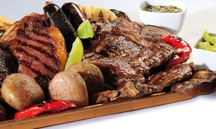 Parrillada de carne o pescado para 2 o 4 con entrante, botella de vino y café o postre desde 22,95 € en Asador Casa Dani