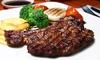 Menu con kg di carne e vino