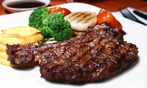 Grill Satory: Côte de bœuf d'1 kg minimum pour 2 personnes, option 2 cocktails planteurs dès 35 € au Grill Satory