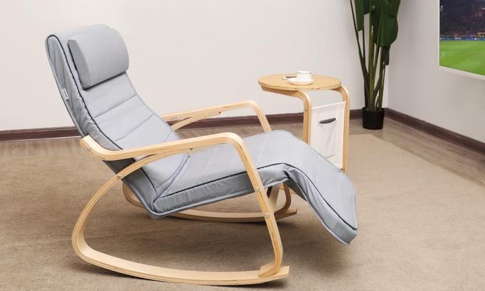 fauteuil bascule scandinave fauteuil bascule scandinave - Fauteuil Scandinave Avec Repose Pied