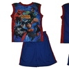 Justice League Toddlers' Blue 2-Piece Top and Short Set