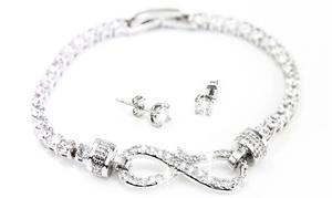 Parures de bijoux Arabella Infinity ornées de cristaux Swarovski®