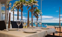 Menú para 2 o 4 personas con entrante, principal, postre y botella de vino o bebida desde 29,95 € en La Otra Punta