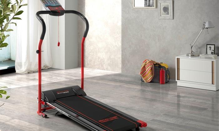 Groupon Goods Global GmbH: Tapis roulant Eco avec support pour tablette et capteur cardio à 199€ (56% de réduction)