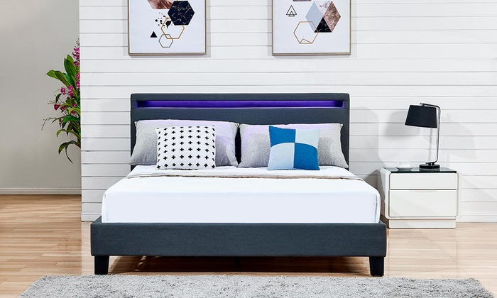 LED Fabric Bed from £115 (50% OFF)