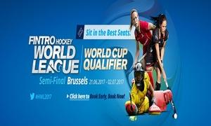 Visit Brussels: Prenez place dans les gradins A/C pour vivre en direct la coupe du monde de hockey féminin dès 11€