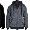 Men's Heavyweight Sherpa-Lined Hoodies (2-Pack) (Sizes L & XXL)