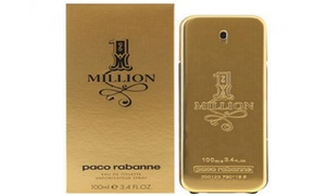 Paco Rabanne 1 Million Eau de Toilette for Men (3.4 or 6.8 Fl. Oz.)