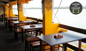 Restaurante Ancoradouro: Almoço para 2 ou 4 pessoas no Ancoradouro – Pontal da Barra